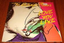 THE ROLLING STONES LOVE YOU LIVE ORIGINAL 2-LP SET STILL IN SHRINK WRAP  1977