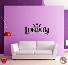 Wall Sticker London England Britain Travel Living Room  (z1598)