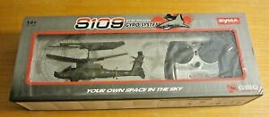 Syma S109 Apache AH-64 Remote Control Helicopter Gyro System New in Box