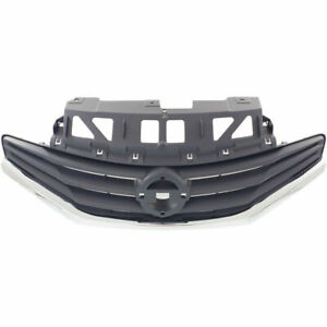 NEW GRILLE PAINTED GRAY FITS NISSAN VERSA NOTE EXCEPT SR MODEL NI1200257