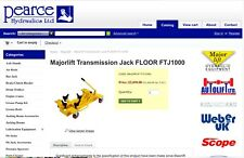 TRANSMISSION JACK 1TONNE FLOOR Majorlift