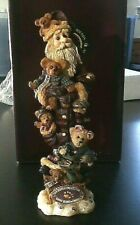 Christmas Boyds Bears Bearly Nick and Buddie 7in Edition 10E Piece 109 New w/Box