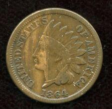 1864 USA 1 Cent  - Very Fine