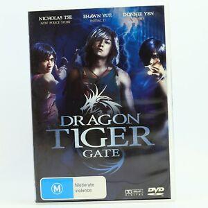 Dragon Tiger Gate Nicholas Tse Hong Kong Martial Arts Wilson Yip Sub DVD GC