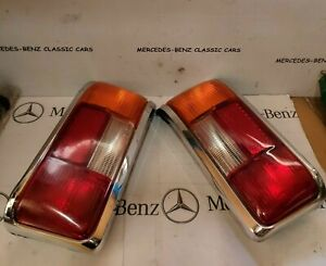 MERCEDES W114 W115 1st SERIES EARLY MODELS REAR TAIL LIGHT RIGHT AND LEFT PAIR
