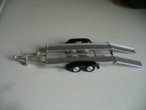 Twin Axle trailer Built in 1/43rd scale by K & R Replicas