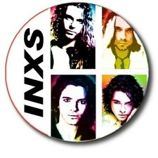 "INXS/ MICHAEL HUTCHENCE/ FABULOUS POP ART STYLE 1""/ 25 mm BUTTON BADGE"