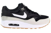 Nike Air Max 1 Big Kids' Shoes Black/White/Light Bone/Gum Med Brown 807602-011