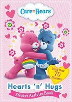 Hearts 'N' Hugs Sticker Activity Book (Care Bears), Care Bears, New,