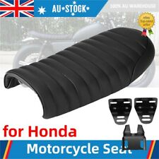 Motorcycle PU Cafe Racer Seat Saddle Cushion for Honda 125 GN Cb400ss