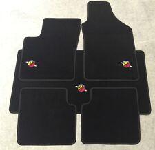 Autoteppich Fußmatten Kofferraum Set für Fiat 500L ab 2012' Abarth Stick Velour
