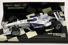 BMW Sauber F1.06 Jacques Villeneuve 2006 Minichamps 1:43
