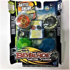 Hasbro Beyblade METAL FUSION BURN FIREBLAZE BB59A vs POISON SCORPIO B110 Boy Toy