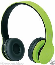 MACROM M-HPB20 CUFFIA AURICOLARI WIRELESS SENZA FILI BLUETOOTH 3.0 COLORE VERDE