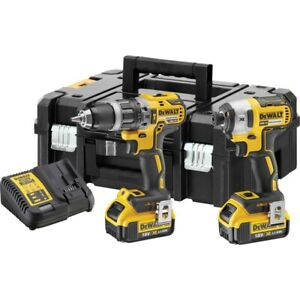 Dewalt 18v 4.0AH Li-ion XR Brushless Cordless Twin Pack