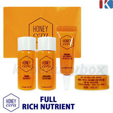 ETUDE HOUSE Honey Cera Skin Care Special Kit / Toner+Emulsion+Eye Serum+Cream