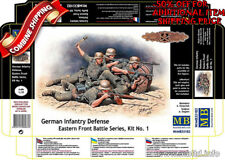 Master Box 35102 WWII German Infantry in Battle Eastern Front, plastic kit 1/35