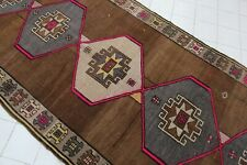 "Vintage Handmade Turkish Oushak  Runner Rug Carpet 131""x52"""