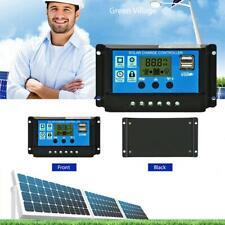 30A Digital LCD Solar Regler USB Laderegler Panel Charge Controller Regulator DE