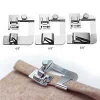 Domestic Sewing Machine Foot Presser Rolled Hem Feet Selvage Crimping Presser