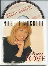 MAGGIE MACNEAL - Only love CD SINGLE 2TR DUTCH CARDSLEEVE 1997 RARE!