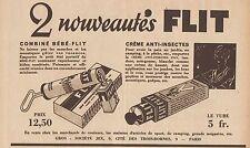 Y8860 Créme anti-insectes FLIT - Pubblicità d'epoca - 1933 Old advert