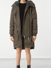 ALL SAINTS Rare Khaki OREN Parka Size S