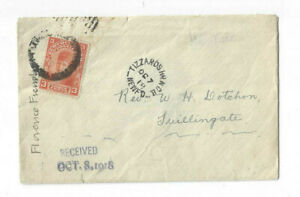 1918 cover TIZZARDS HR N.D.B. to Twillingate, NFLD 3c Princess of Wales