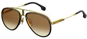 Carrera GLORY Black/Brown Shaded 58/17/145 unisex Sunglasses