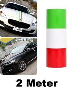 2m Italien Flagge Aufkleber 15cm Streifen KFZ Auto Spiegel Motorhaube 6,49€/m