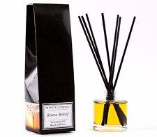 Mystix London | Stress Relief Essential Oil Reed Diffuser - 200ml (RD200EOBSTRE)