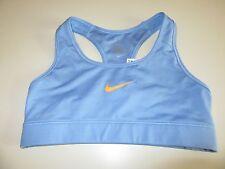 Women's Nike PRO Sports bra, XS, racer back, light blue