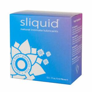 Sliquid Natural Intimate Sex Lubes Sexual Wellness Lubricant UK