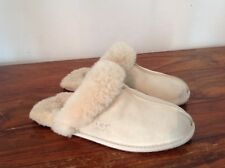 Ladies UGG Slippers Beige UK Size 4.5