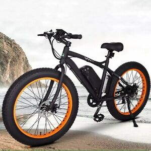 "FAT TYRE ELECTRIC BIKE 26"" 500W 36V 12.5Ah brand new CE certified. High power."