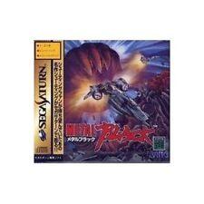 Sega Saturn Metal Black Japan SS