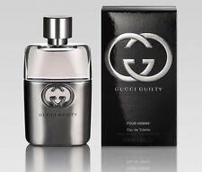 GUCCI GUILTY POUR HOMME * Cologne for Men * EDT * 3.0 oz * BRAND NEW IN BOX