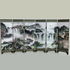 Room Screen Divider Oriental Commemorative Home Office Privacy Chinese