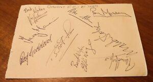 Leyton Orient Football Club 1967/68 Team Squad - 30 Original Autographs