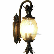 European Outdoor Wall Lamps Pineapple Glass Lights Home Garden Sconces Fixtures