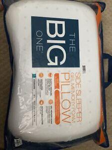 The Big One - Gel Memory Foam Side Sleeper Pillow Standard/Queen *16 x 24 x 5*