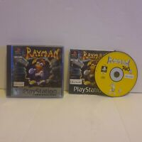Rayman - PS1 Playstation 1 PAL Game with manual Platinum free uk postage