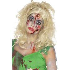 Femmes Pays Imaginaire Zombie Fée Perruque Adulte Halloween Déguisement Nouveau