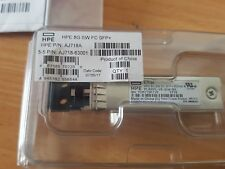 HPE Optical Transceiver 8Gb ShortWave SFP OVP AJ718A RENEW