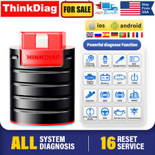 THINKDIAG OBD2 Diagnostic Scanner All Systems Bluetooth Active Test Key Coding