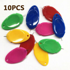 10Pcs Needle Threader Hand or Machine Threadings for Embroidery Sewing Stitching