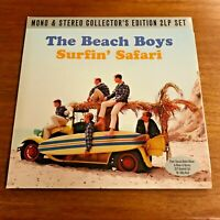 The Beach Boys Surfin Safari 2013 2 LPs Not Now Music UK Pressing Excellent