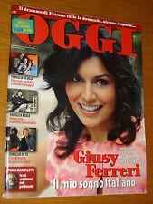 OGGI 2008/48=GIUSY FERRERI=RENZO PIANO=AMANDA KNOX=LUCA ARGENTERO=CAPPONI CARLO=