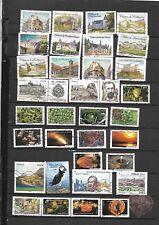 N°454- beau lot 34 timbre France 2012-oblitérés -très bon état