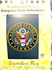 United States Army Seal Eagle Full Sz. Suede House Flag 2 Sided Brand New
